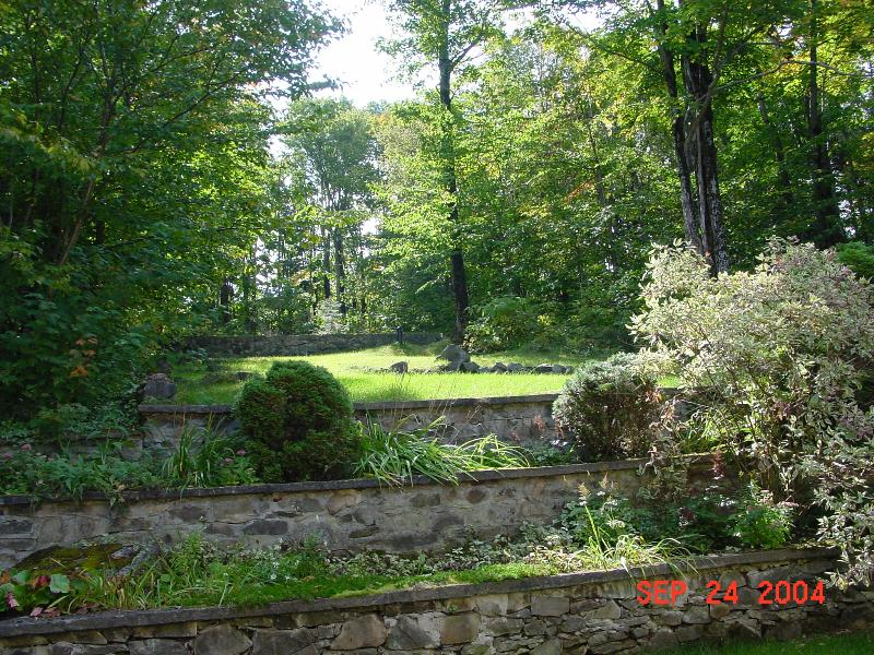 Driveway side of Yard