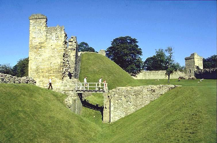 Pickering Castle, National Heritage only 20 minutes walk from cottages