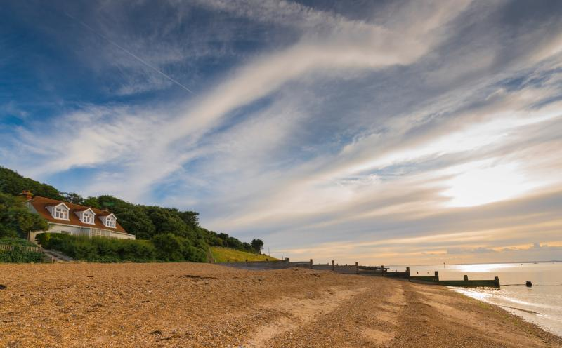 Stunning beach location and extensive sea views. Photos by Chris Sowe