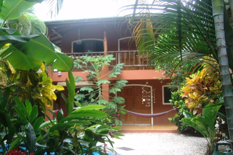 The main house, two apartments, upstairs Iguana and downstairs Toucan