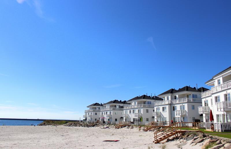 Der Strand am Haus