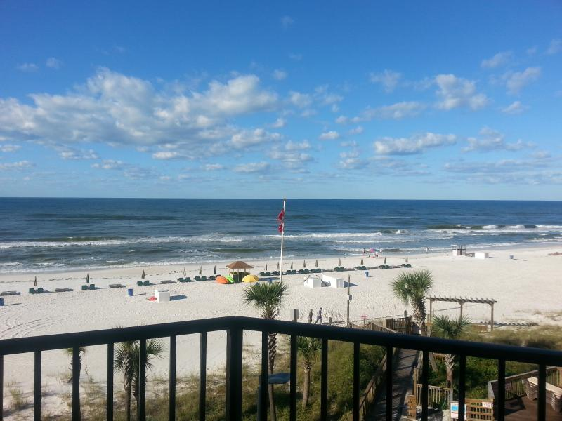 Amazing Views & Gulf Breezes From Your Private Balcony with seating for 4.