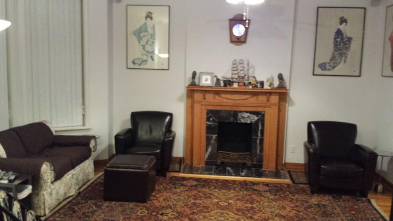 Seating area in our living/entertainment room.  The room is so large that we need 2 pictures.