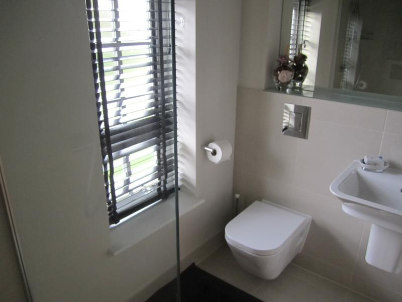 Exceptional quality fittings with luxury toiletries and bathrobes.