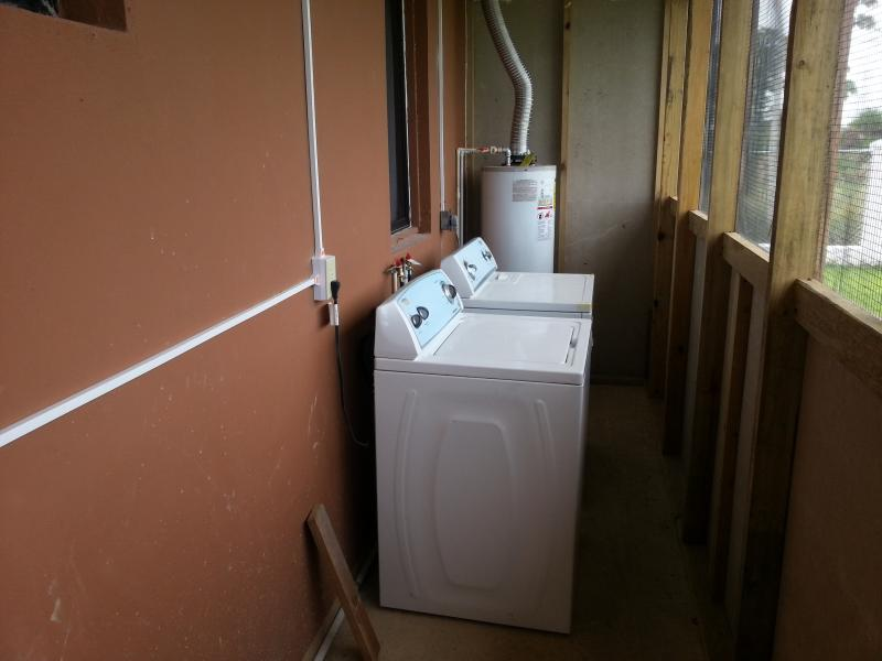 Utility area - washer/dryer/heater
