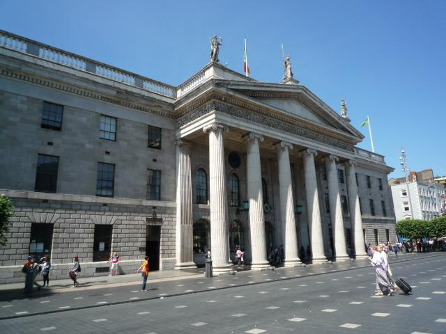 GPO O' Connell Street - 20 mins walk