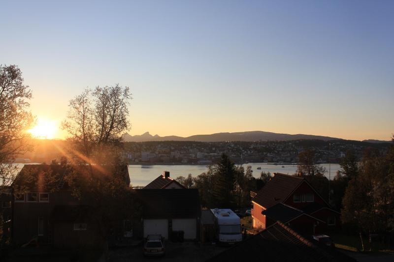 Uitzicht vanaf ons terras :-)