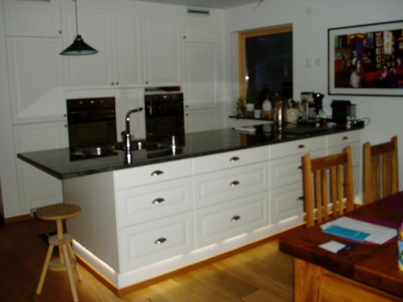 Köket i undervåningen
