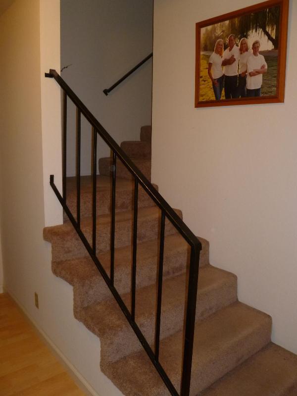 Escaliers menant à la Chambre des maîtres