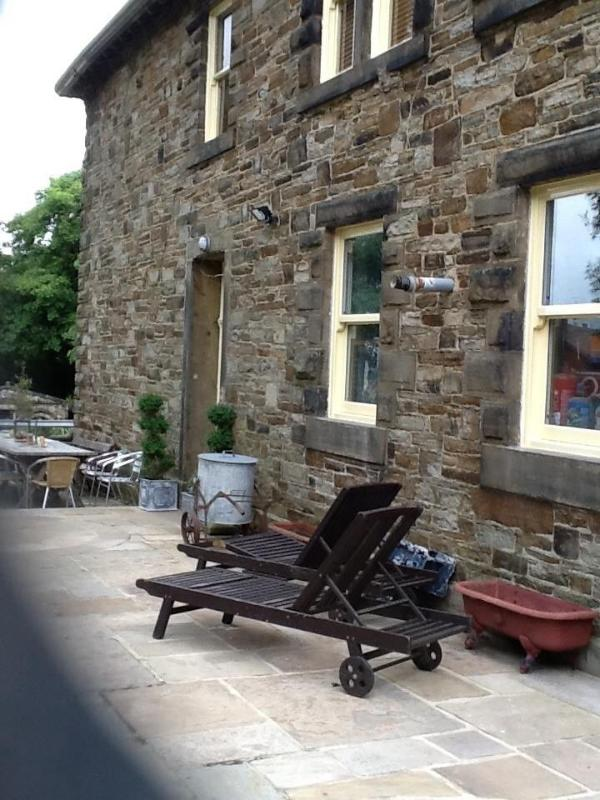 Private terrace with all weather alfresco dining and cinema room bbq area and sauna room