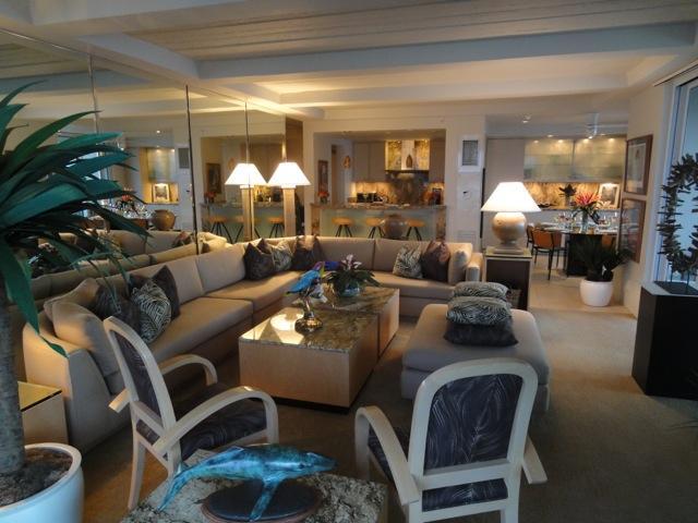 Visual piacevole ed estremamente confortevole, il soggiorno della Suite 802 offre tutti.