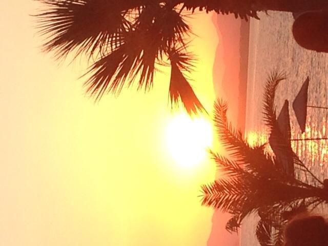 Sunset at Calis beach