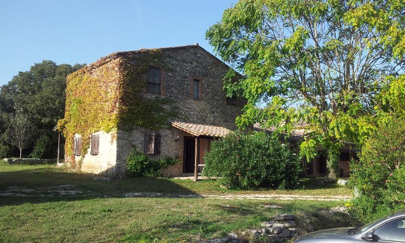 Podere Conte Ràcani in Amelia - La Stalla, vacation rental in Attigliano