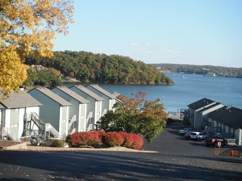 L'automne sur le lac.