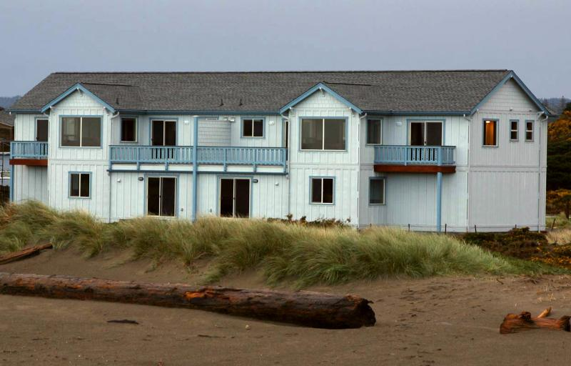 Beach side View of House Property Line is the beach foredune.  Nothing betweetn you and the ocean.