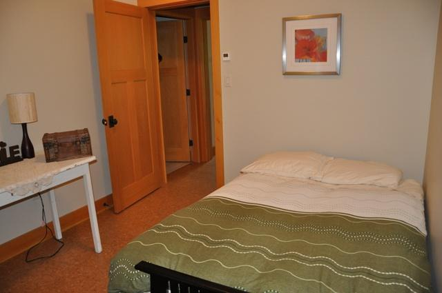 The den, second bedroom- fully private