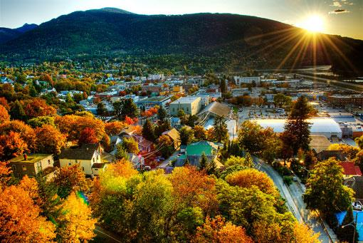 Beautiful Fall colors of Nelson