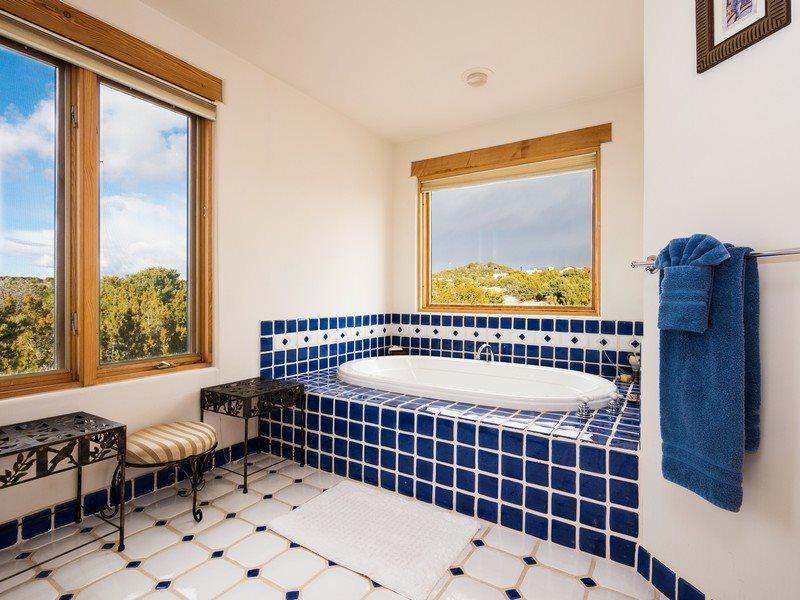 View of bathtub