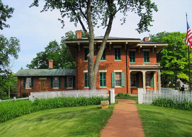 Ulysses S. Grant Home tours disponibles.