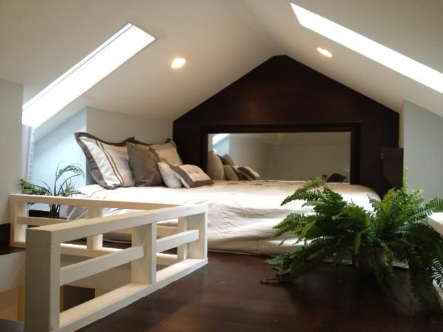 Bedroom 2 - Queen Size Bed in Sleeping Loft