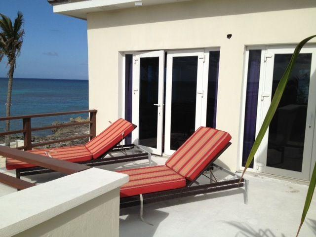 Private balcony for master suite with amazing sunset/ocean views