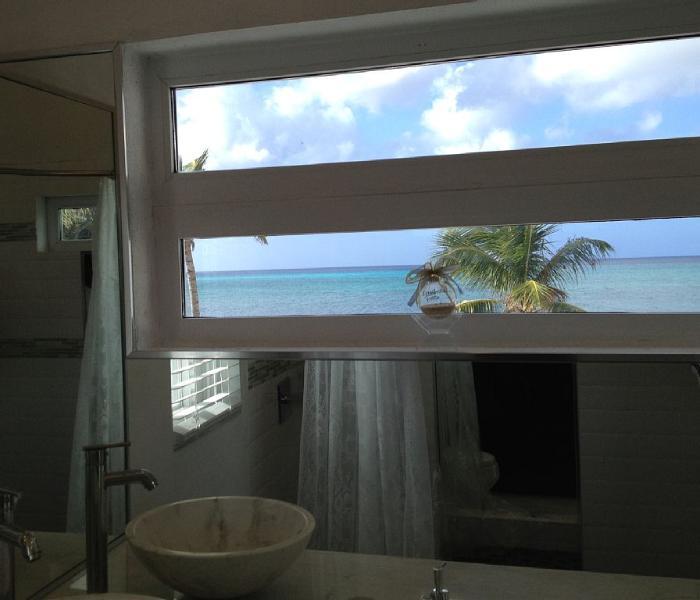 Enjoy beautiful ocean Views from master bath