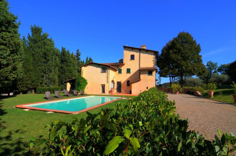 Villa Selva Bellosguardo, holiday rental in Poggio a Caiano