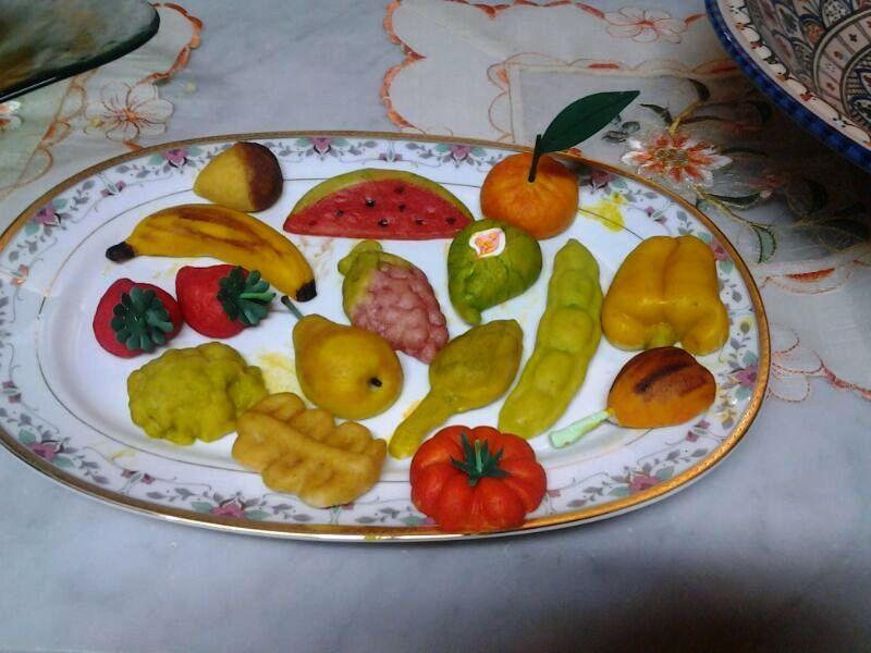 frutta martorana tipica Siciliana