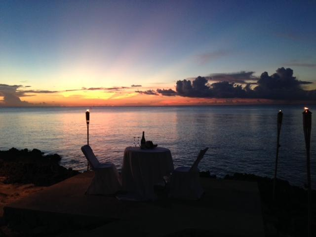 Let us arrange an intimate sunset dinner at Panorama for you!