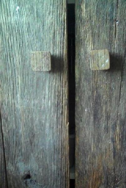 Ancient barn wood details