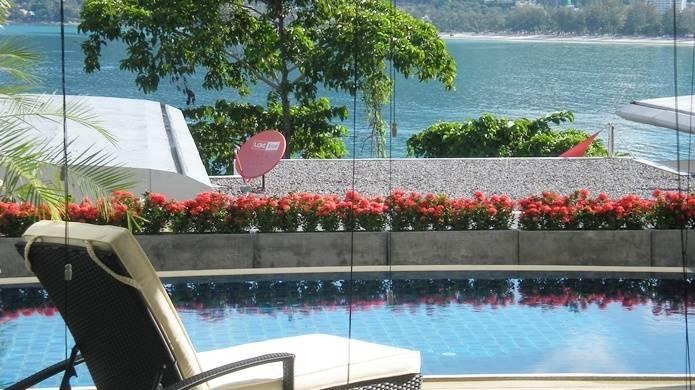Atika villas villa1 oceanfront serviced pool villa, holiday rental in Patong