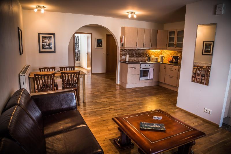 Spacious 1-bedroom apartment - Bakki Hostel & Apts, holiday rental in Arborg