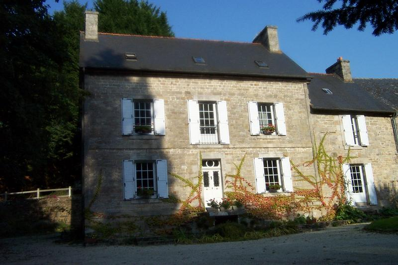 Gastvrije ingang van Le Manoir