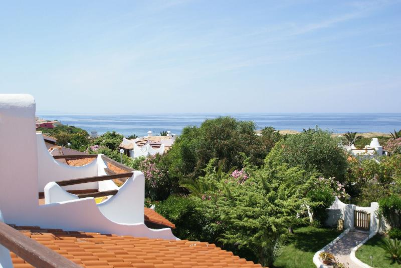 Roof terrace with sea view