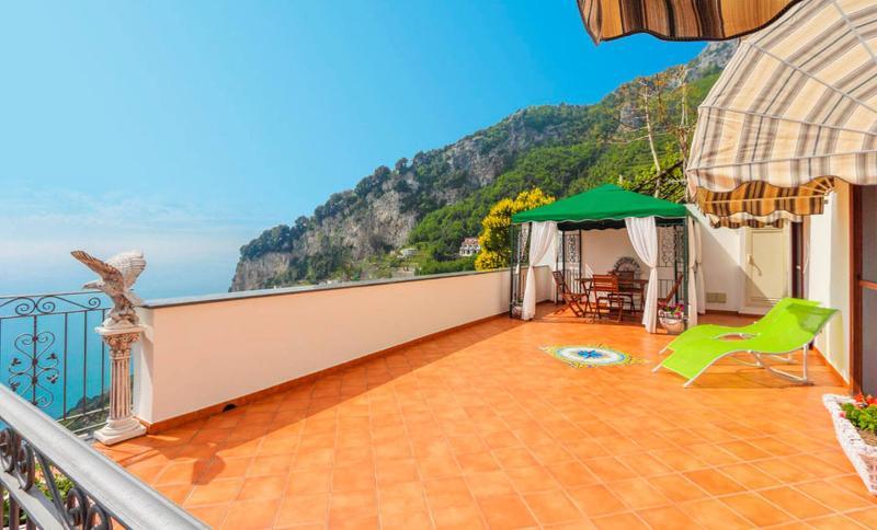 Private Terrace at casa Viola