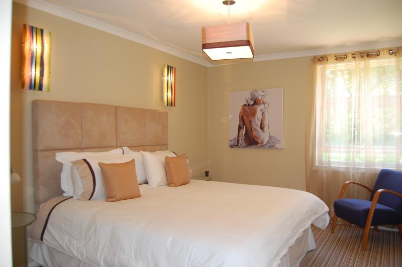 Chic boutique estilo dormitorio plano
