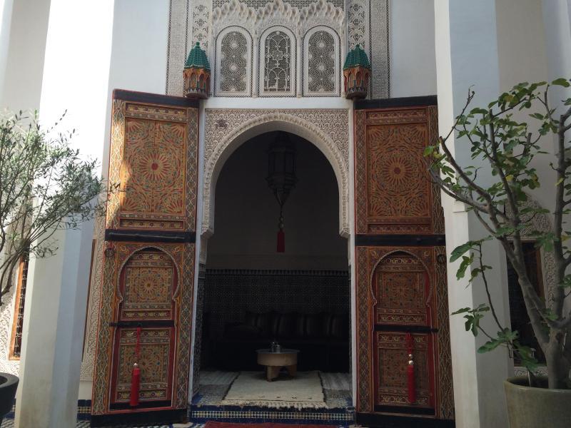 Porte du salon / lounge's door