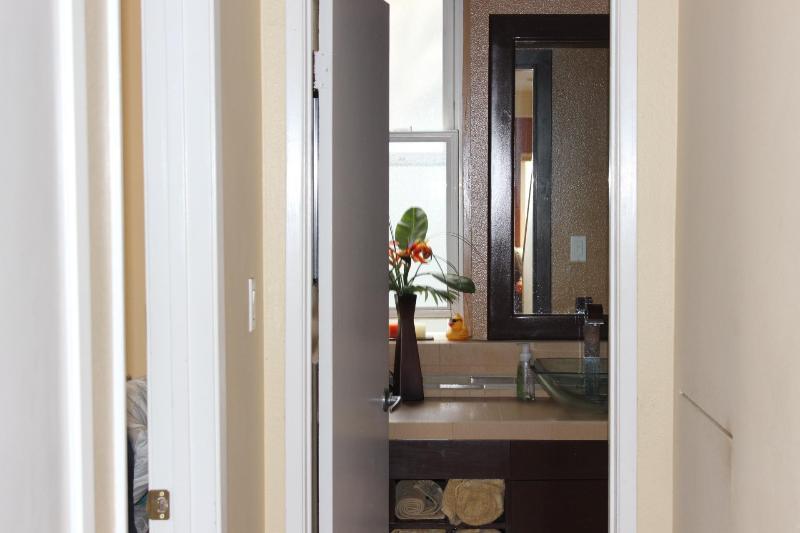 Main Floor Bath with walk in shower