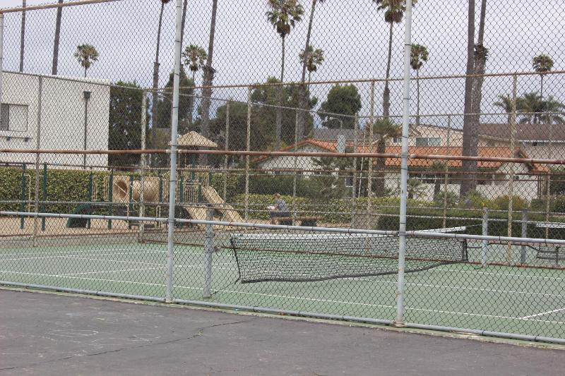 Paddle tennis courts at area park