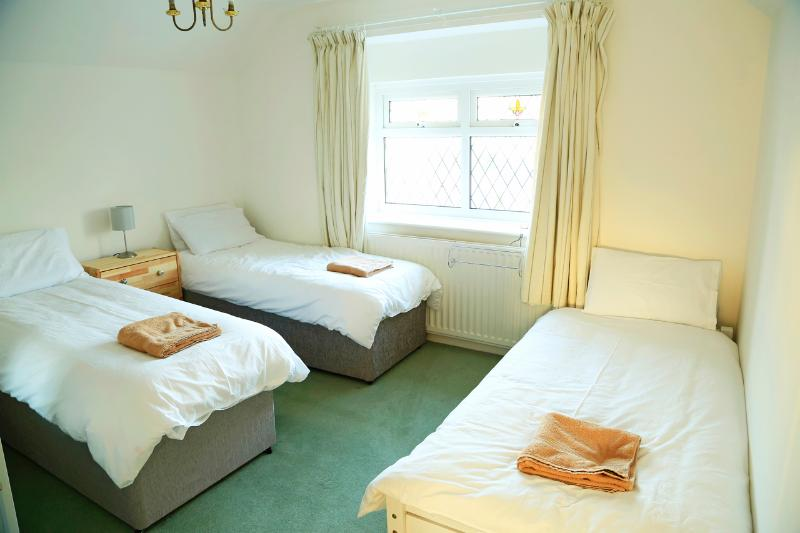 Bedroom 3 -  2off the twin beds are 'Zip and Link' to create a King Size bed