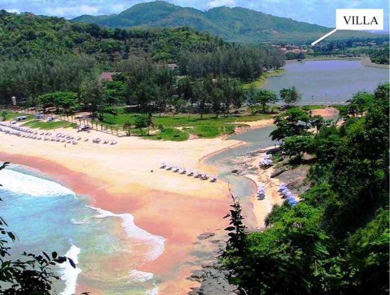 Location near beautiful beach - a national park