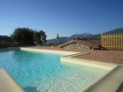 Pool with stunning mountain views!