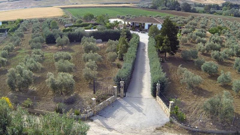 vista aerea de la entrada