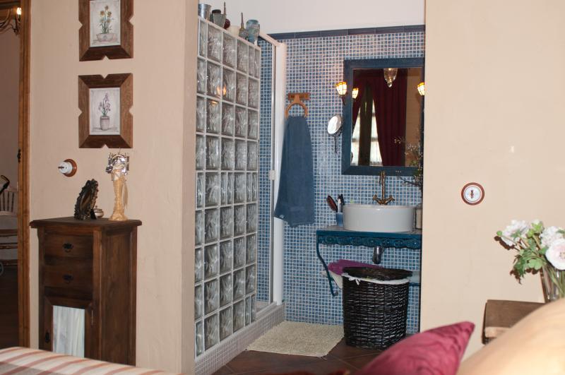 cuarto de baño en dormitorio principal
