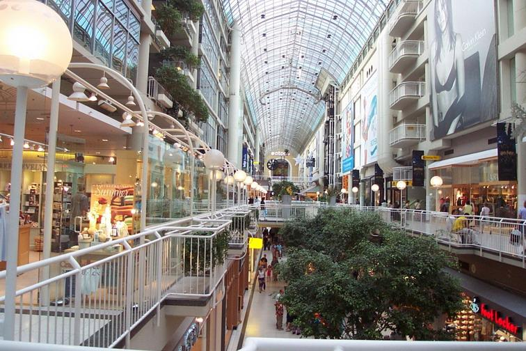 Toronto Eatons Centre 1 min walking distance