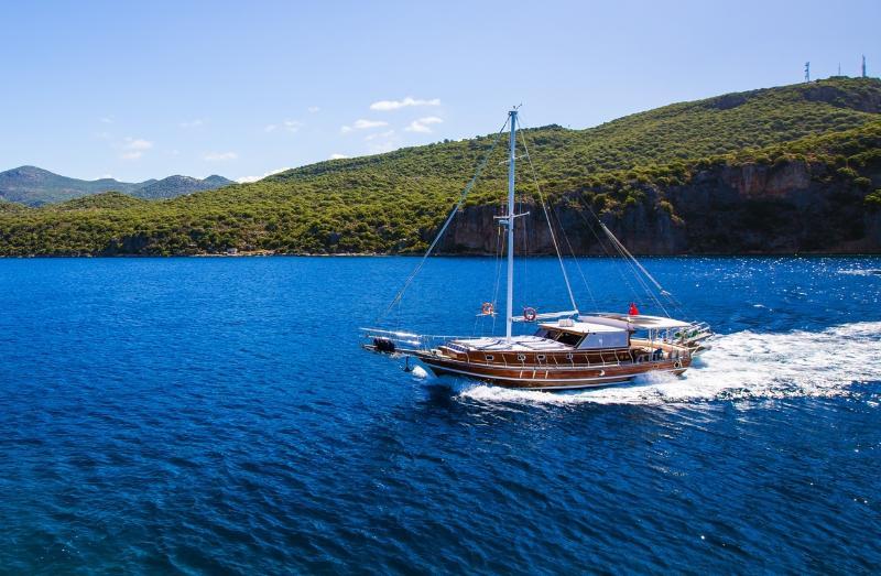 Luxury Yacht Rental in Kalkan