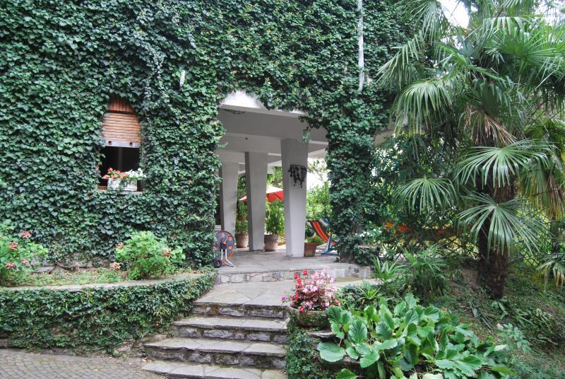 l'ingresso al B&B Le Ortensie Lago di Como