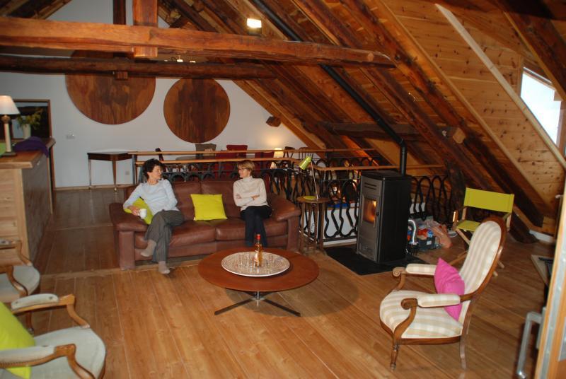 LA FENIÈRE duplex de 160m² dans le Queyras, location de vacances à Château-Ville-Vieille