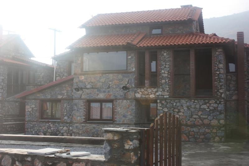 Traditional builded stone house