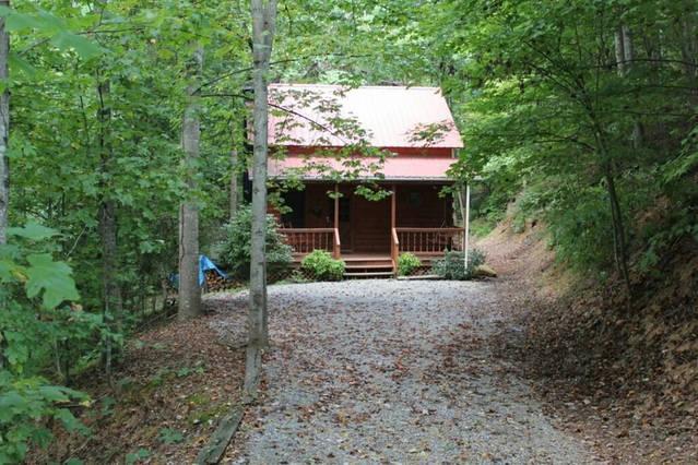 La cabine nichée dans la région isolée